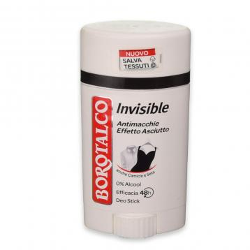 Borotalco deo stick 40 ml invisible