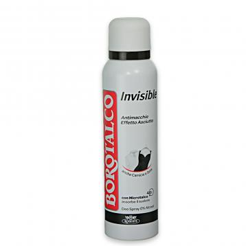 Borotalco deo spray 125 ml invisible