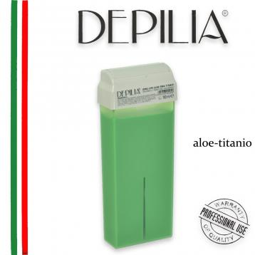 Roll-on cera 100 ml lipo 1.14 aloe titanio