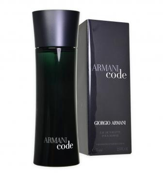 Armani code edt 75ml vp