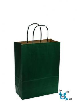 Shoppers carta .to .22 + 10 x 29 verde scuro