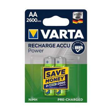 Varta recharge accu power aa 'stilo' 2600mah