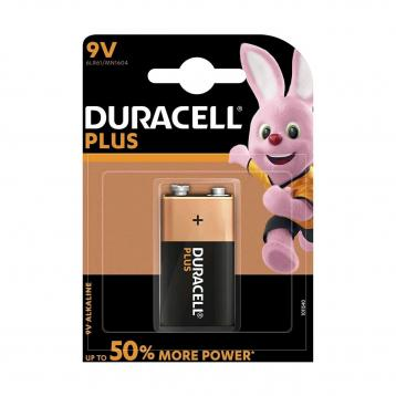 Duracell plus power 9v 'transistor'