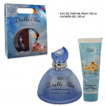 Coffret diable blue edp 100 ml + shower gel 100 ml
