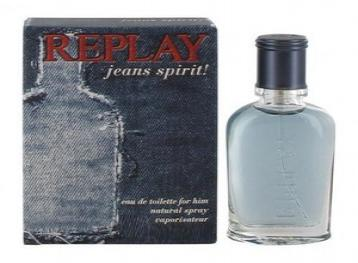 Replay jeans spirit man edt 75ml