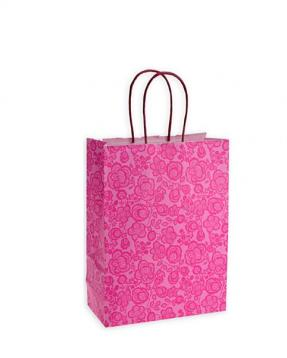 Shoppers damasco f.to 18 + 8 x 24 col. fuxia
