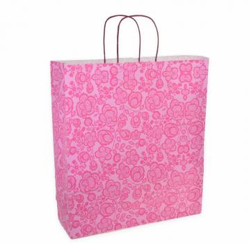 Shoppers carta f.to .36 + 12 x 41 fantasia damasco fucsia