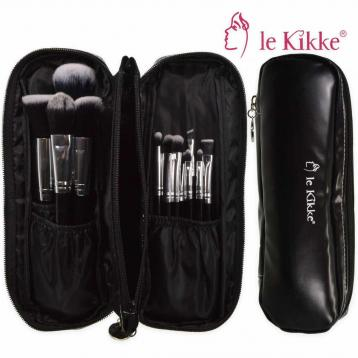 Le kikke set pennelli make-up viaggio