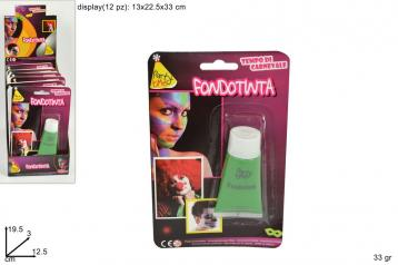 Fondotinta verde in blister in display 64005-green