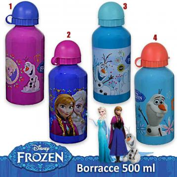 Borraccia alluminio 500 ml frozen