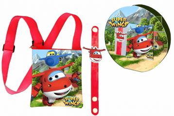 Gift kids trasv.+ bracciale super wings