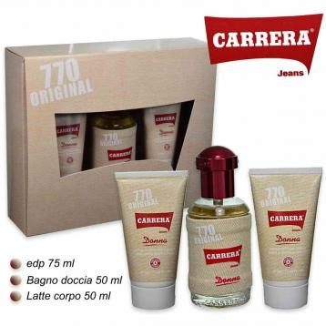 Carrera 700  donna edp 75ml + bagnos/ma 50ml + b.lotion 50ml