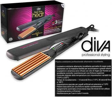 Diva professional new digital crimper argan serie 3
