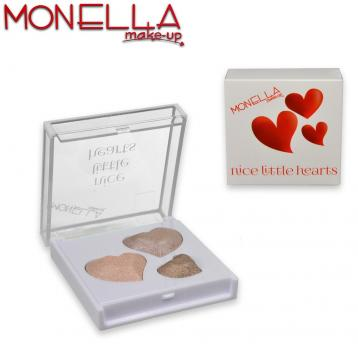 Monella trousse 6 x 6 cm nice little hearts