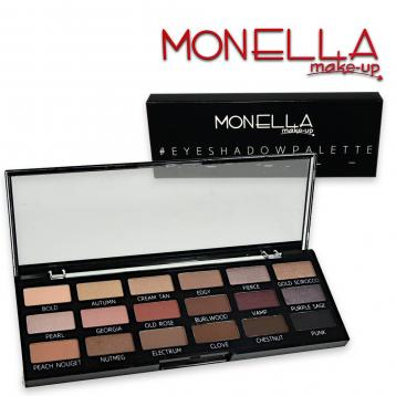 Monella trousse make-up eyeshadow palette