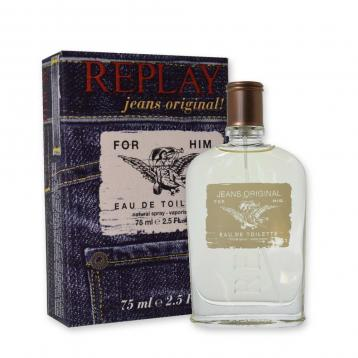 Replay jeans original man edt 75 ml