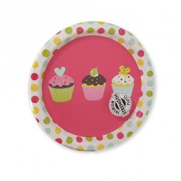 Piatti carta cm. 18 sweet treats conf.da 8 pz