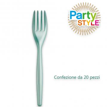 20 forchette 180 mm. party style tiffany