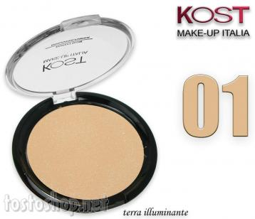 Polvere compatta perfect glow highlighter kost 01