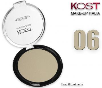 Polvere compatta perfect glow highlighter kost 06