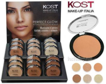 Display polvere compatta perfect glow highlighter 18 pezzi