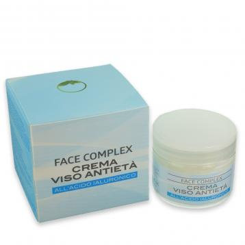 Face complex crema viso anti eta' acido ialuronico 50 ml