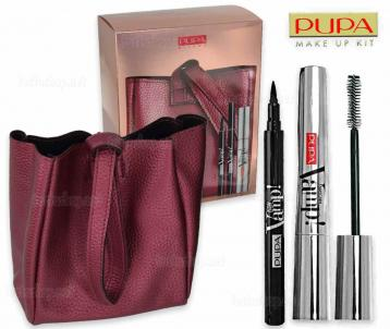 Pupa make-up kit mascara vamp extreme + skinny liner