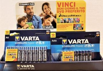 Varta counter display longlife power bl. 23 pz