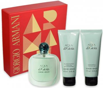 Armasi acqua di gioia coffret edp 50 ml + body lotion 75 ml + shower gel 75 ml