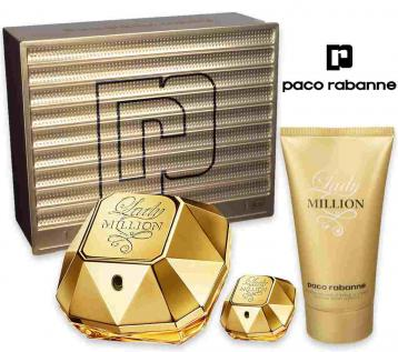 Lady million edp 50 ml + body lotion 75 ml + mini