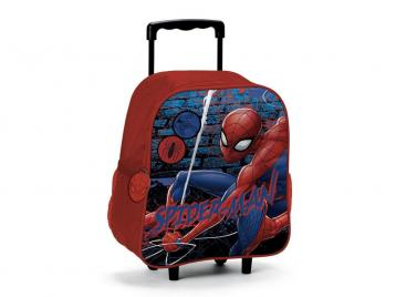 The wall zaino trolley spider-man