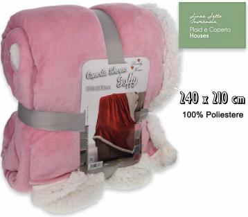 Coperta soffy t.u. 210*240 ass.2
