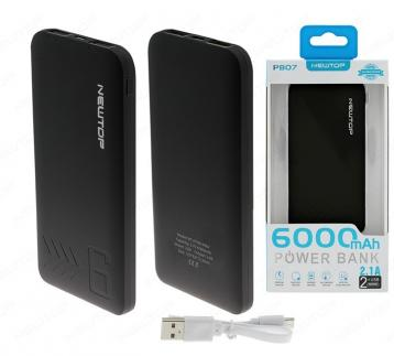 Newtop pb07 power bank 6000mah