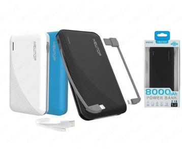 Newtop pb08 power bank 8000mah