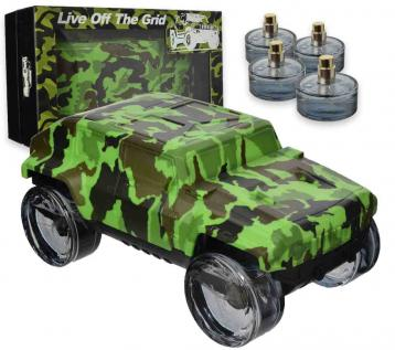 Coffret live off the grid green edp 25 ml x 4