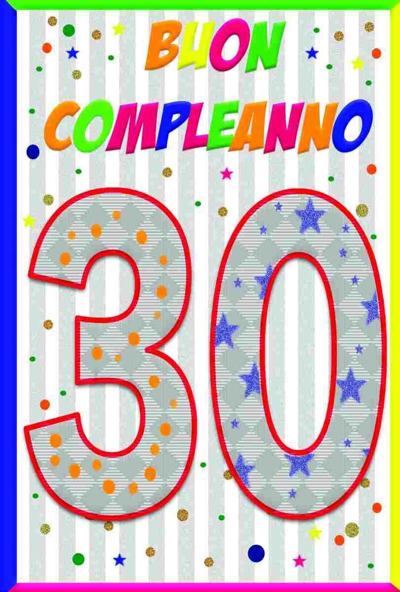 Festa Compleanno 40 Anni Uomo biglietti augurali buon compleanno 30/40/50 anni 3 soggetti