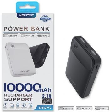 Newtop pb25 power bank 10000mah
