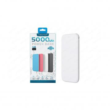 Newtop pb03 power bank 5000mah slim oval